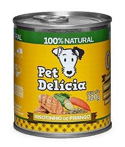 Alimentação Natural Risotinho de Frango 320g - Pet Delícia