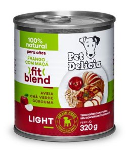 Alimentação Natural Fit Blend Light 320g - Pet Delícia