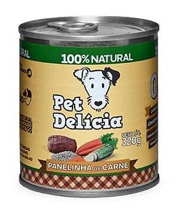 Alimentação Natural Panelinha de Carne 320g - Pet Delícia