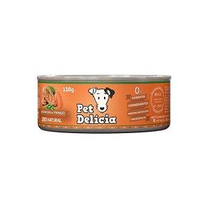 Alimentação Natural Jardineira de Frango 110g - Pet Delícia