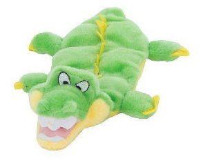 Brinquedo Mega Squeaker Jacaré Mini