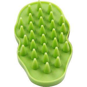 Escova massageadora para cães - Verde Pawise