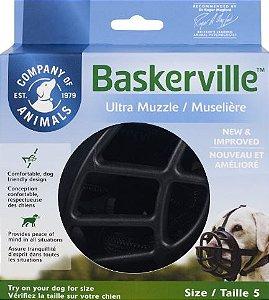 Focinheira Baskerville Preta - GG