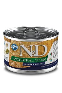 Alimento Úmido para Cães N&D Ancestral Grain Cordeiro & Blueberry- 140g