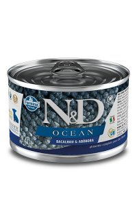 Alimento Úmido para Cães Filhotes N&D Ocean Bacalhau & Abóbora - 140g