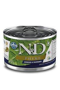 Alimento Úmido para Cães N&D Prime Cordeiro & Blueberry - 140g