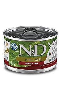Alimento Úmido para Cães N&D Prime Frango & Romã - 140g