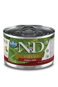 Alimento Úmido para Cães Filhotes N&D Prime Frango & Romã - 140g