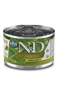 Alimento Úmido para Cães N&D Prime Javali & Maçã - 140g