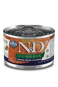 Alimento Úmido para Cães N&D Pumpkin Cordeiro, Abóbora & Blueberry - 140g