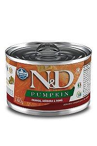 Alimento Úmido para Cães N&D Pumpkin Frango, Abóbora & Romã - 140g