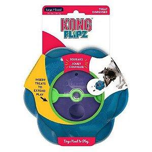 Brinquedo Recheável Flipz Kong  - Dispenser com apito P