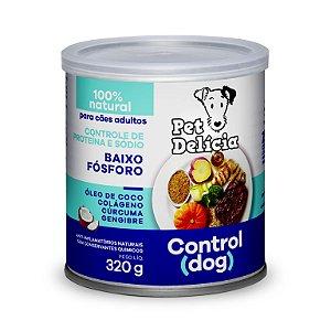 Alimentação Natural Control Dog 320g - Pet Delícia