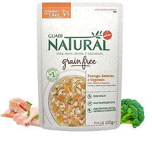 Alimento Úmido para Cães Guabi Natural GRAIN FREE - Salmão e Frango 100g