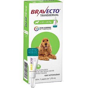 Bravecto Antipulgas Transdermal para Cães de 10 a 20 kg