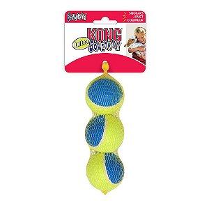 Brinquedo KONG SqueakAir Ultra Bola de Tênis M
