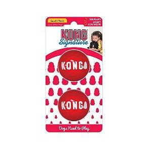 Brinquedo KONG Signature - Bola Resistente P