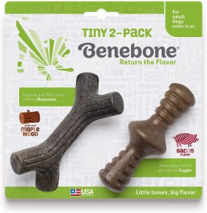 Kit Benebone Stick + Zaggler para roer - Para Cães até 7kg