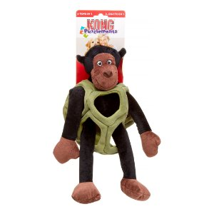 Pelúcia para cães Kong - Macaco Puzzlements G