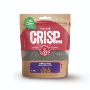 Petisco Natural Crisp - Strips de fígado 100g