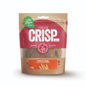 Petisco Natural Crisp - Strips de Frango 100g