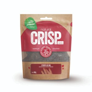 Petisco Natural Crisp - Strips Bovino 100g