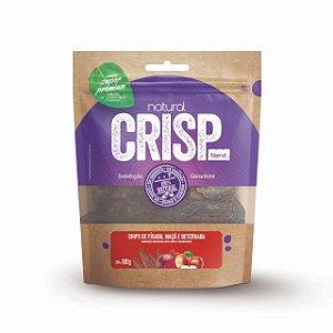 Petisco Natural Crisp - Chips Fígado Maçã e Beterraba 100g