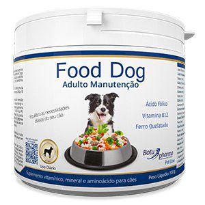 Suplemento Alimentar para Cães Food Dog Adulto Manutenção - 100g
