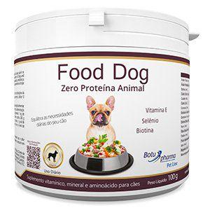 Suplemento Alimentar para Cães Food Dog Zero Proteína Animal - 100g