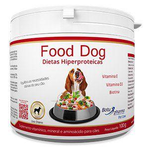 Suplemento Alimentar para Cães Food Dog Dietas Hipercalóricas - 100g