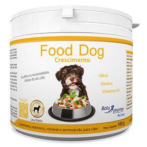 Suplemento Alimentar para Cães Food Dog Crescimento - 100g