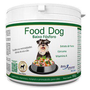 Suplemento Alimentar para Cães Food Dog Baixo Fósforo - 100g