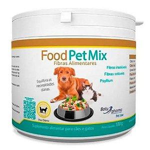 Suplemento Alimentar para Cães e Gatos Food Pet Mix Fibras - 100g