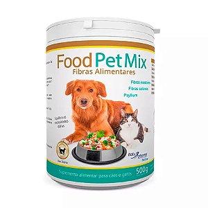 Suplemento Alimentar para Cães e Gatos Food Pet Mix Fibras - 500g