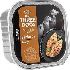 Patê Frango 150g - Three Dogs Cães Sênior