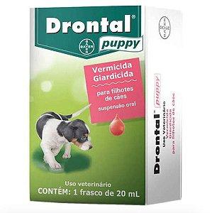 Vermífugo Drontal Suspensão 20ml - Cães Filhotes Bayer Drontal