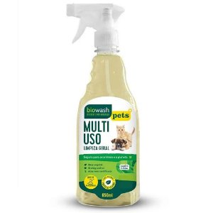 Multiuso Biowash Pet Natural - Capim Limão 650ml