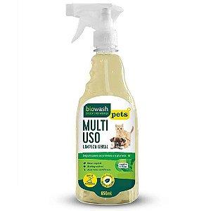 Multiuso Biowash Pet Natural - Capim Limão 650ml