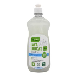 Lava Louças Biowash Natural - Sensitive 650ml