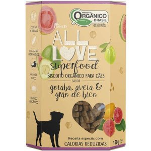 Biscoito All Love - Superfood | Goiaba, Aveia & Grão de Bico 150g