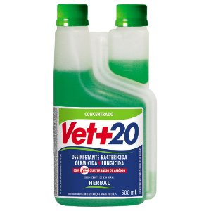 Desinfetante Bactericida Herbal - Concentrado 500ml Vet+20