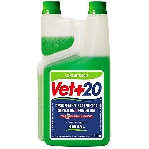 Desinfetante Bactericida Herbal - Concentrado 1L Vet+20