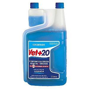 Desinfetante Bactericida Lavanda - Concentrado 2L Vet+20