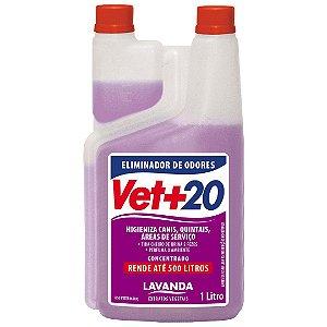 Eliminador de Odores Concentrado Lavanda - 1L Vet+20