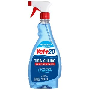 Spray Tira Cheiro Lavanda - 500ml Vet+20