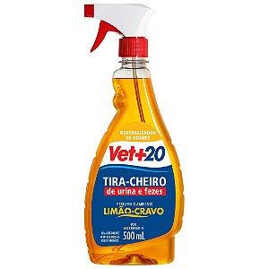 Spray Tira Cheiro Limão Cravo - 500ml Vet+20