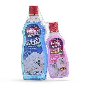 Shampoo Branqueador 500ml Bellokão - Grátis Condicionador