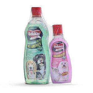 Shampoo Pele Sensível 500ml Bellokão - Grátis Condicionador