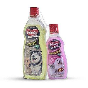 Shampoo Neutro 500ml Bellokão - Grátis Condicionador