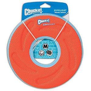 Frisbee para cães Chuckit - Zipflight Laranja M